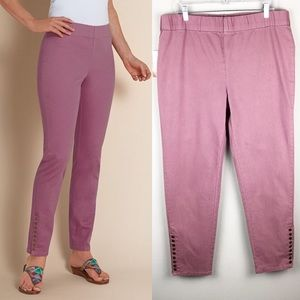 Soft Surroundings | NWT Colorful Metro Leggings